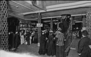 تاریخچه پله برقی