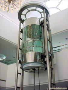 آسانسور شیشه ای هیدرولیکی