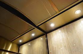 فن و روشنایی کابین آسانسور