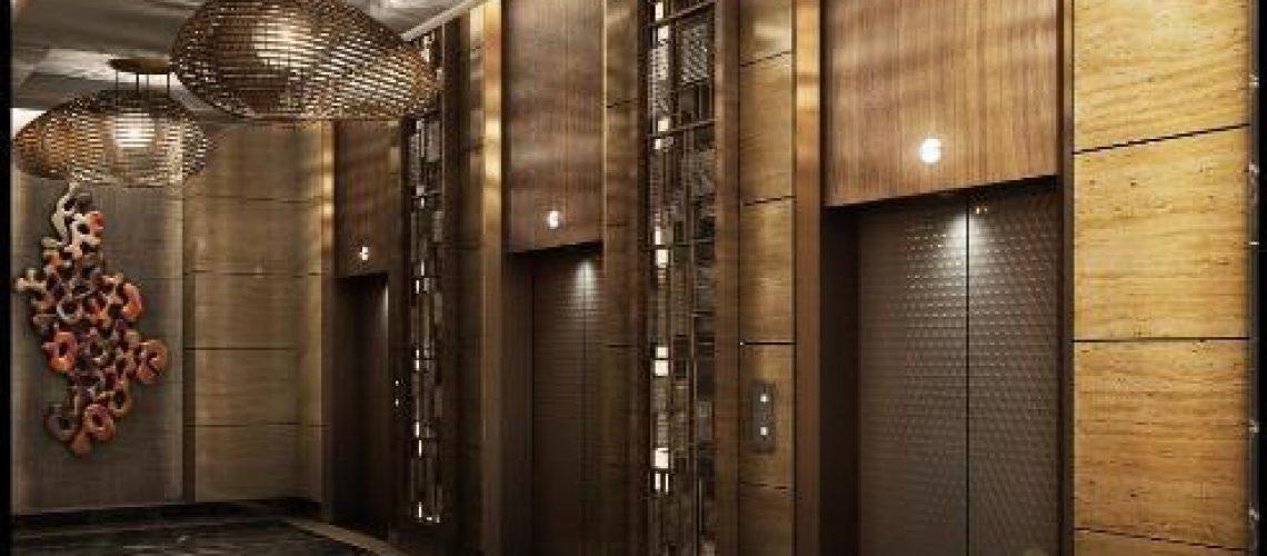 آسانسور مدرن و زیبا