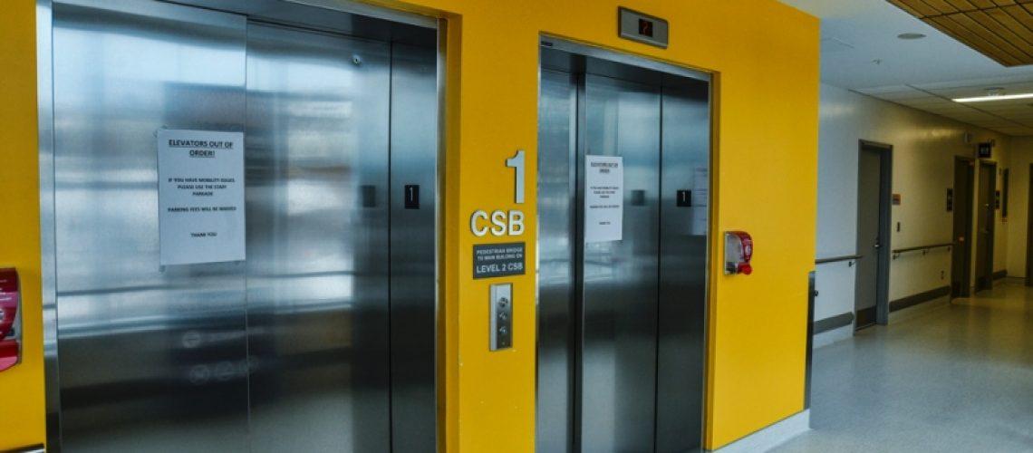 قطعات و تجهیزات تحت بار در آسانسور