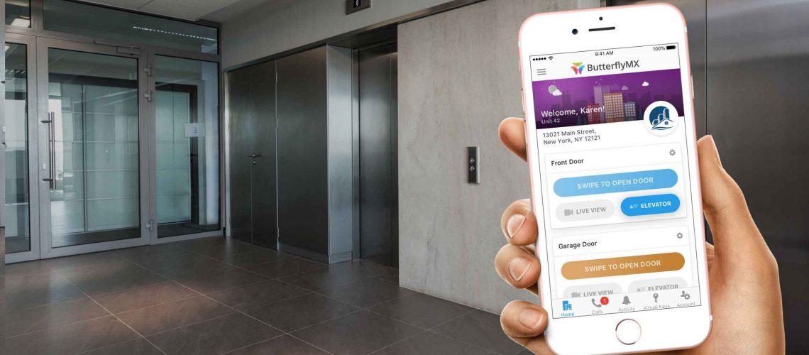 کنترل آسانسور با تلفن همراه